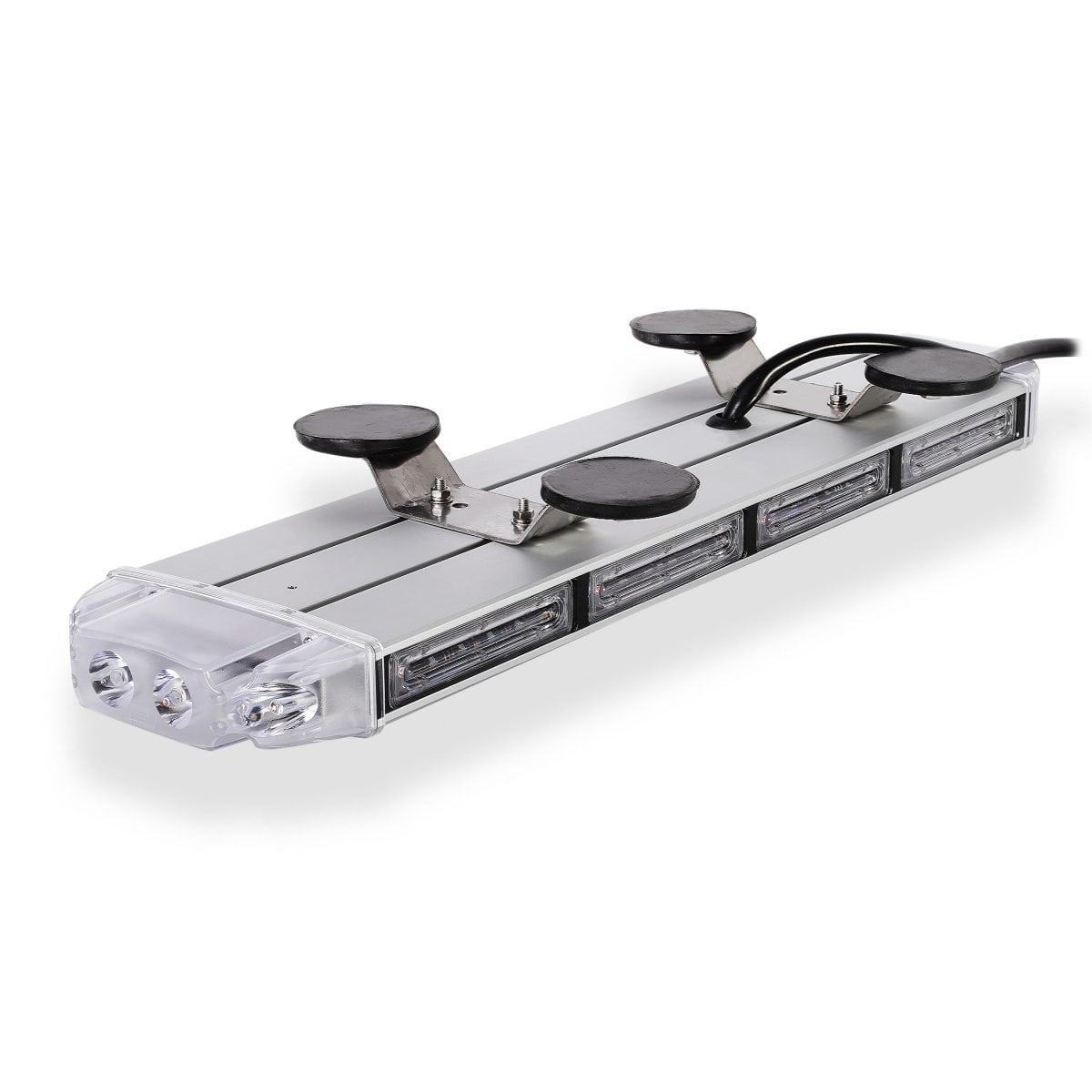Amber Falcon Flight Emergency 3 watt Low Profile Magnetic Roof Mount Mini LED Light Bar 18 in