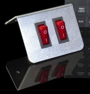 Two Button Switch Plate