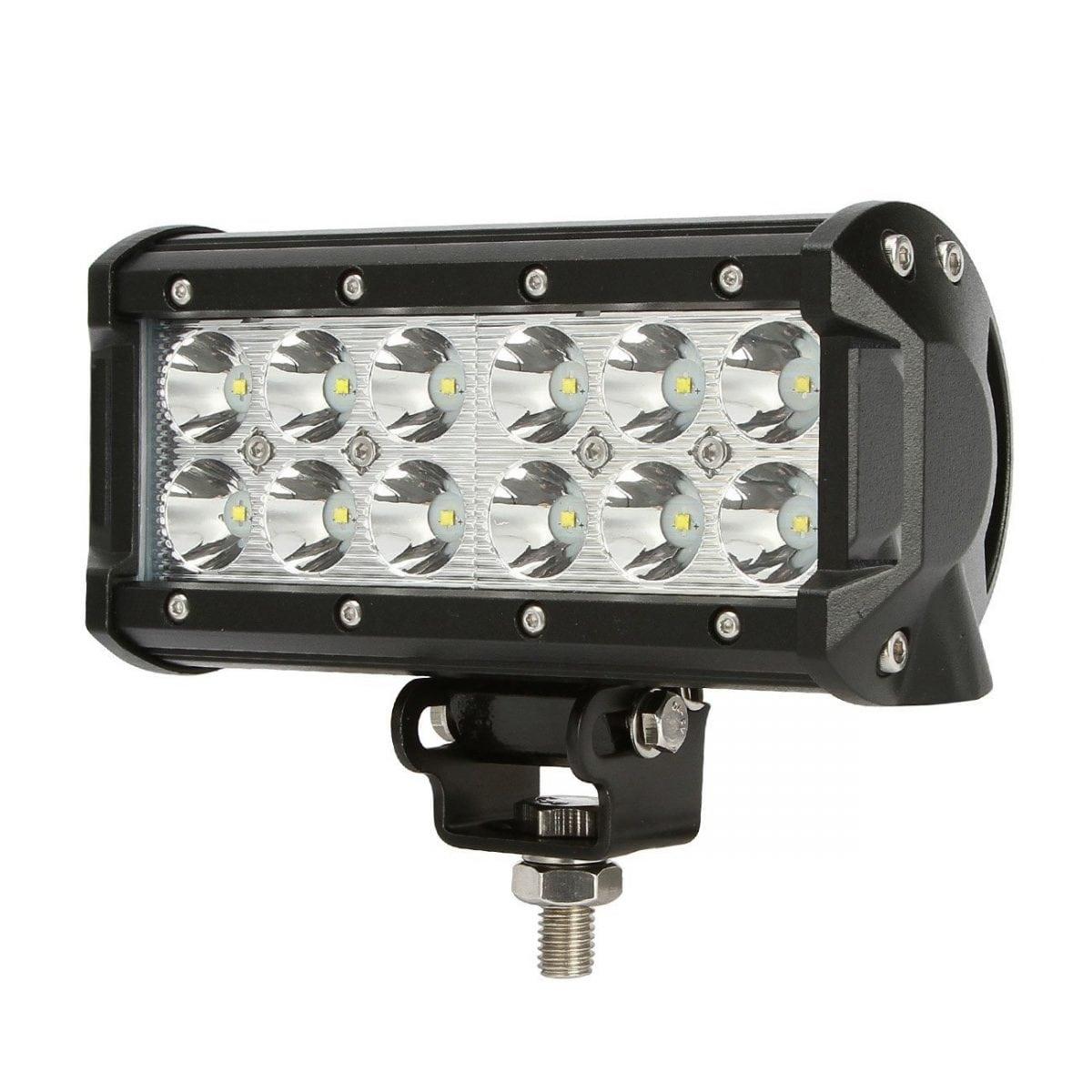 Led Work Lights Flood Spotlights Equipped Wiring Up Vulture Mini 36 Watt