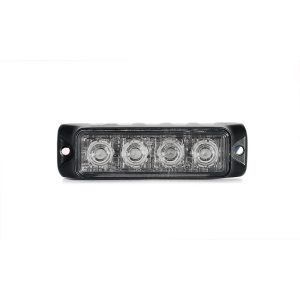 TIR 3 watt 4 LED Emergency Vehicle Grill Warning Light Head