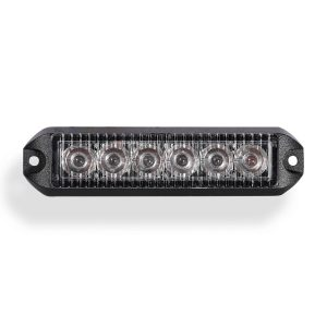 Swift 3.0 TIR 3 Watt 6 LED Emergency Vehicle Grill Warning Light Head