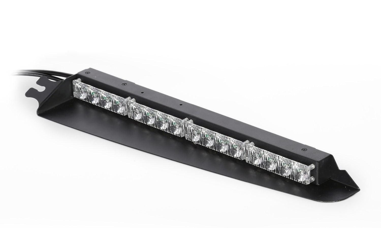 Black hawk 4 tir 3 watt interior visor led light bar led equipped aloadofball Gallery
