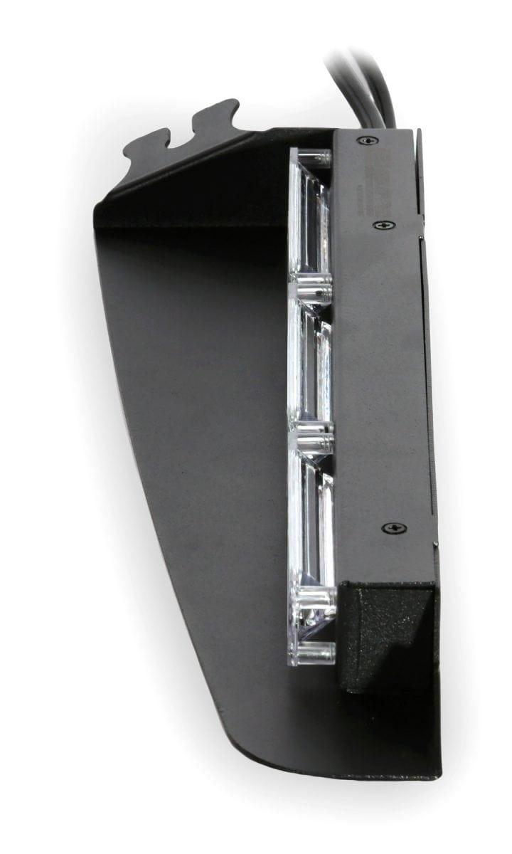 Black Hawk 3 Linear 3 Watt Interior Visor Led Light Bar
