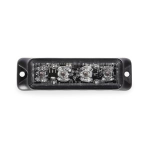 Fusion Frontier 3 watt 4 LED Emergency Vehicle Grill Warning Light Head