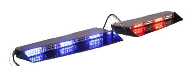 Linear interior visor led emergency vehicle light bar led equipped aloadofball Images