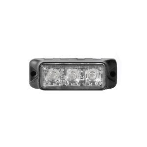 TIR 3 watt 3 LED Emergency Vehicle Grill Warning Light Head