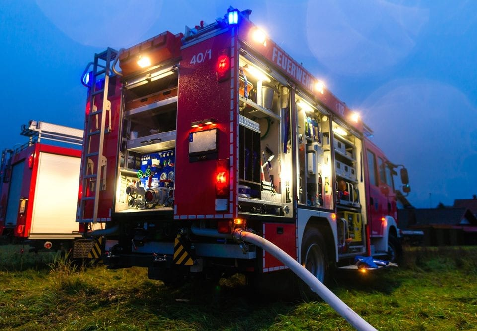 LED lights for EMTs and on-call firefighters