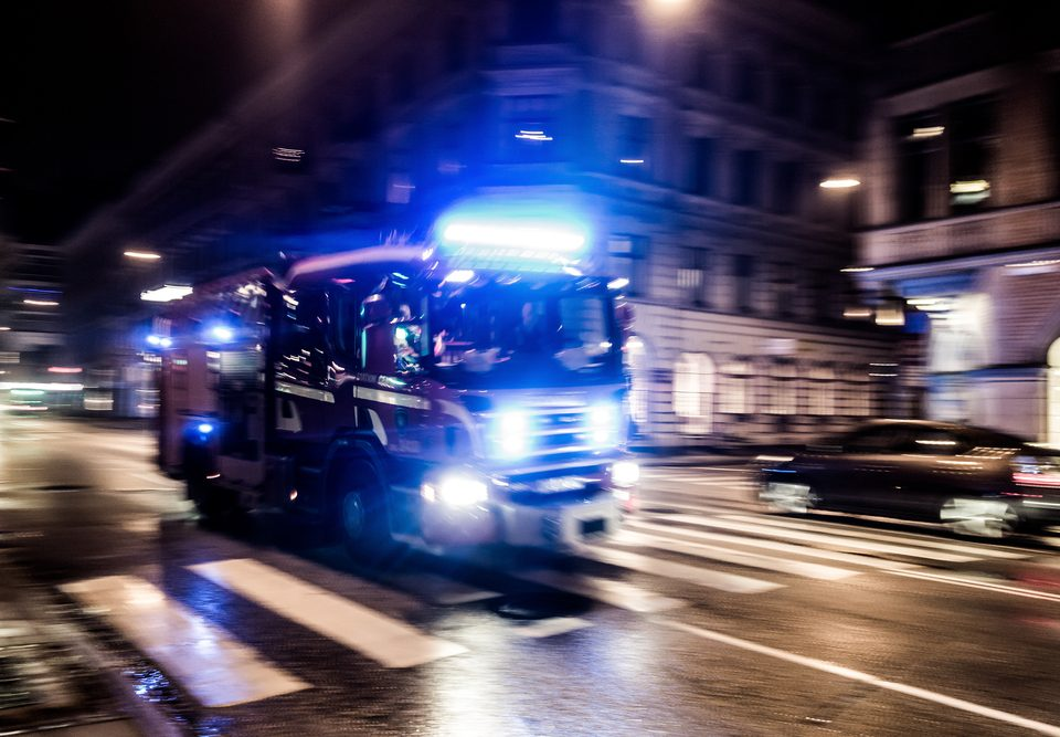 Truck emergency lights and LEDs