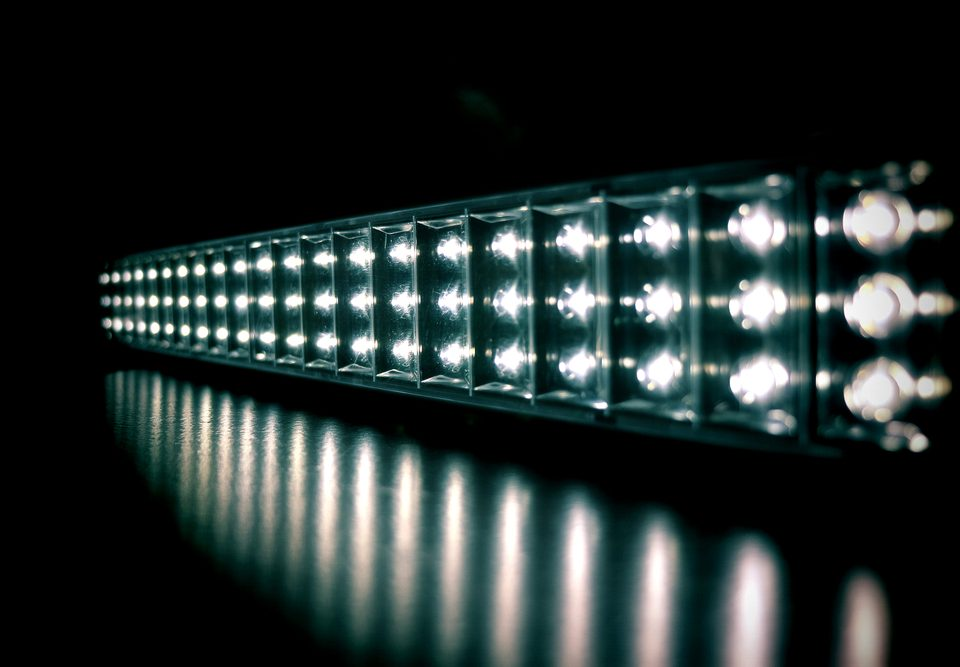 What types of LED light bar beam patterns do I need