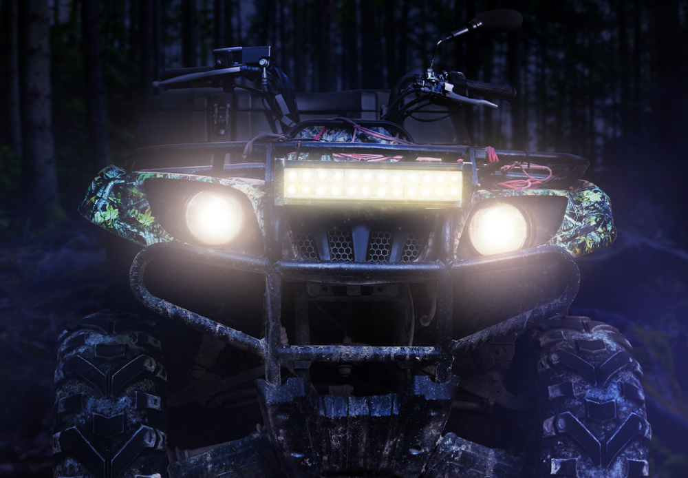 LED lights for off-roading