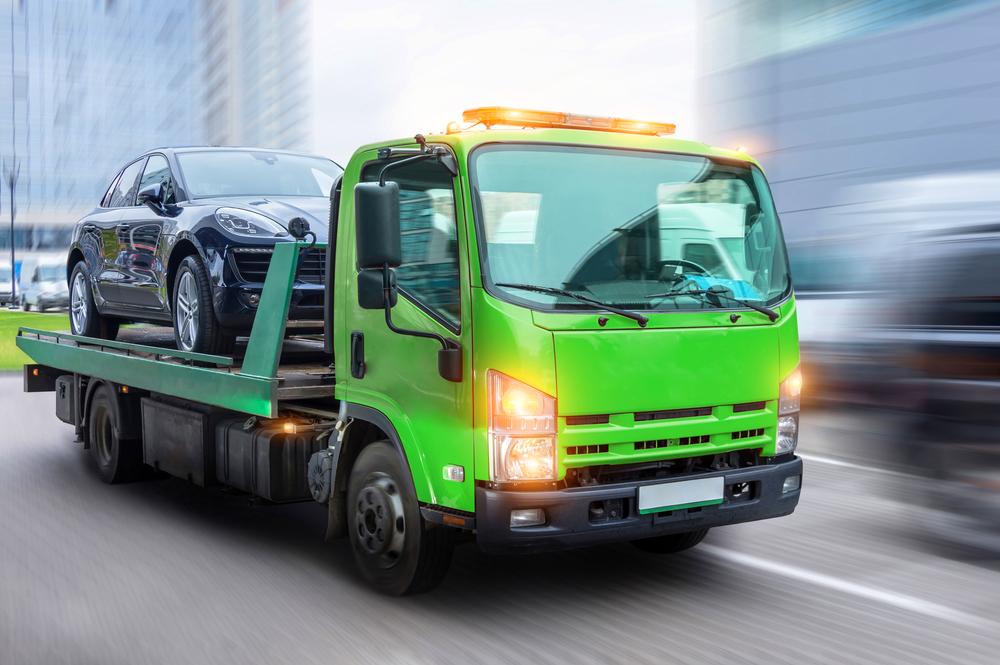 Tow truck LED light bars