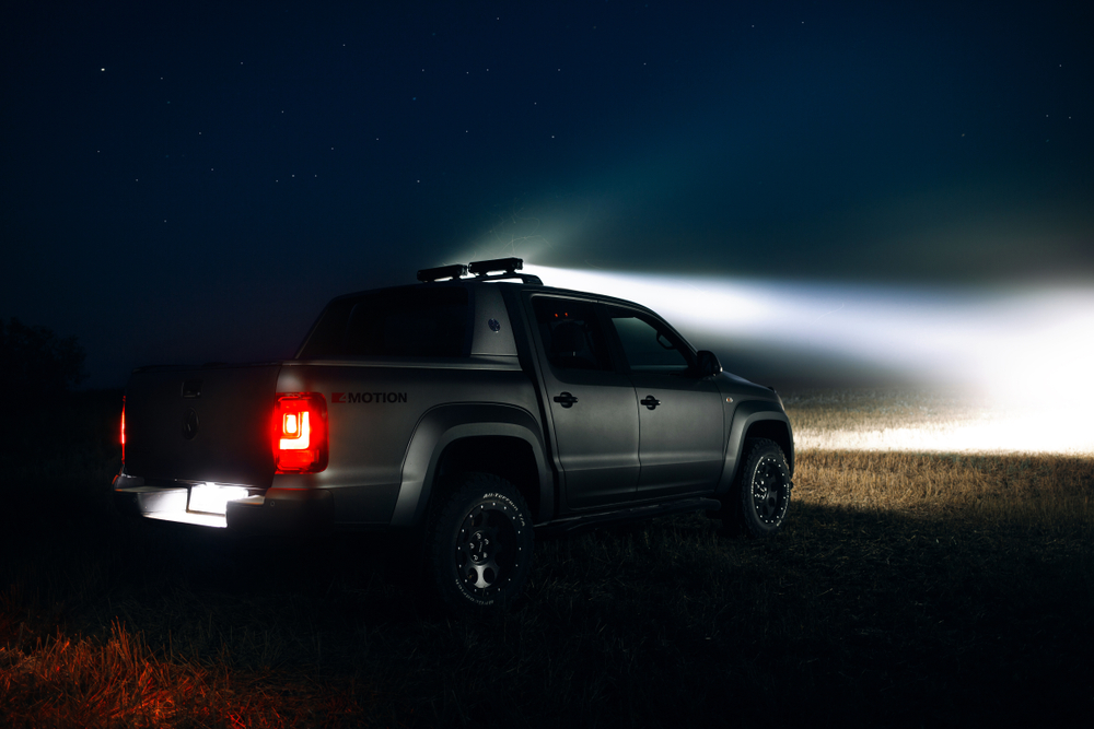 Utility truck LED lights