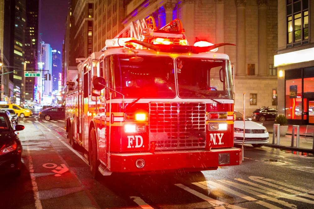 LED lighting for fire trucks